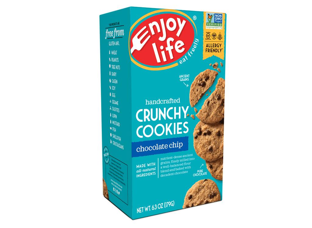 Enjoy life crunch chocolate chip cookies
