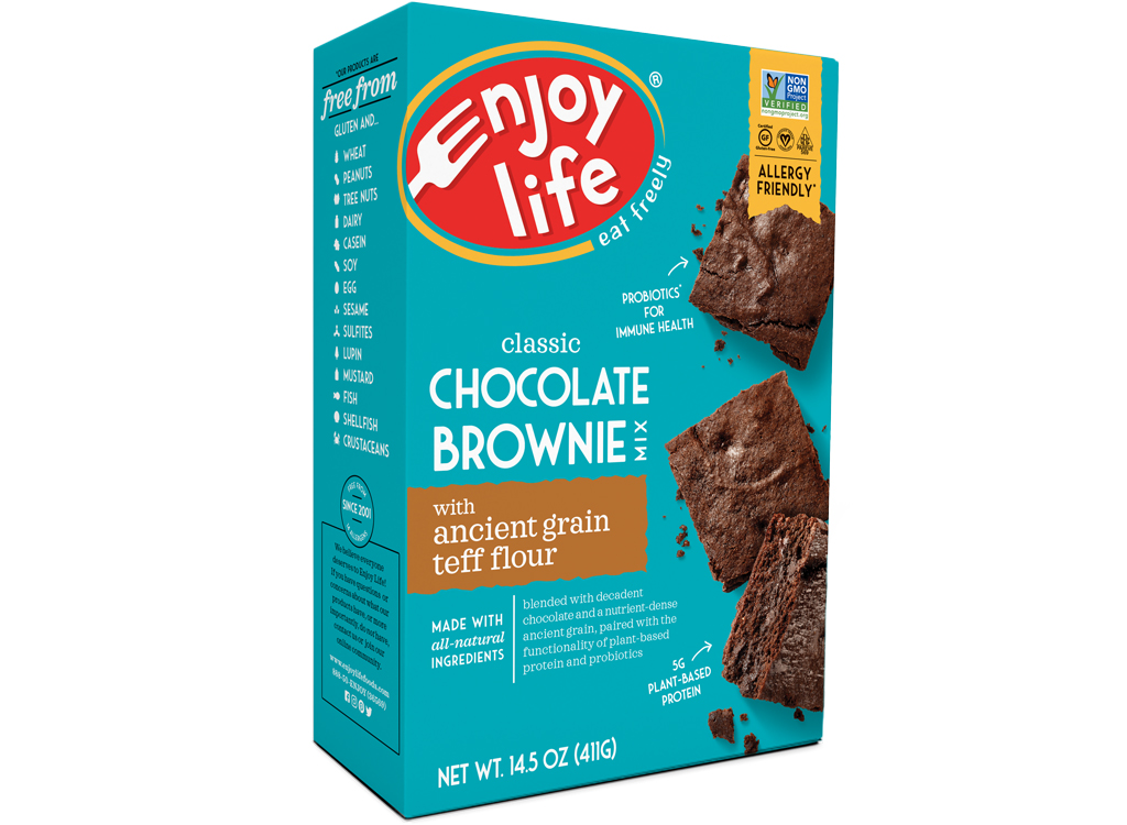 Enjoy life foods chocolate brownie mix