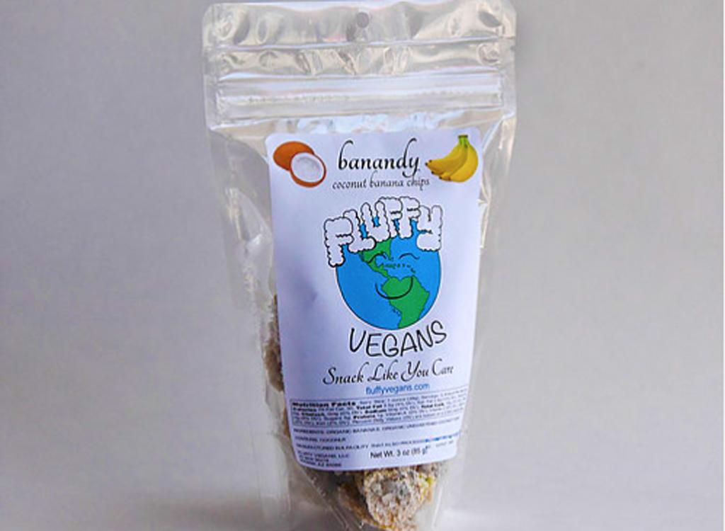 Fluffy vegan banana chips