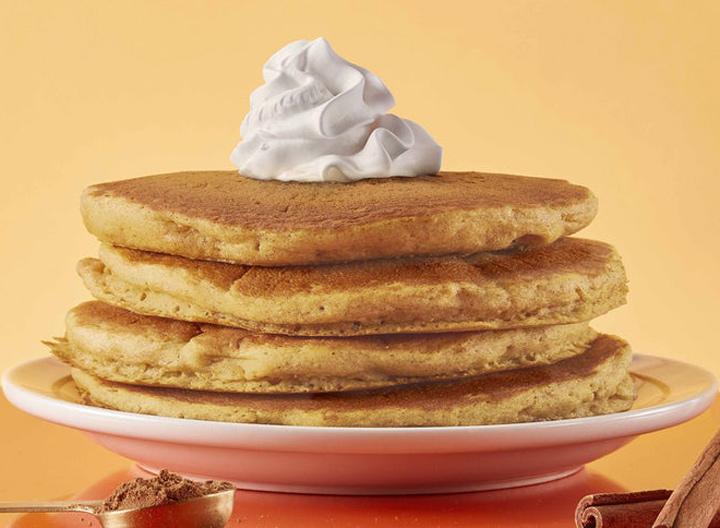 IHOP pumpkin spice pancakes