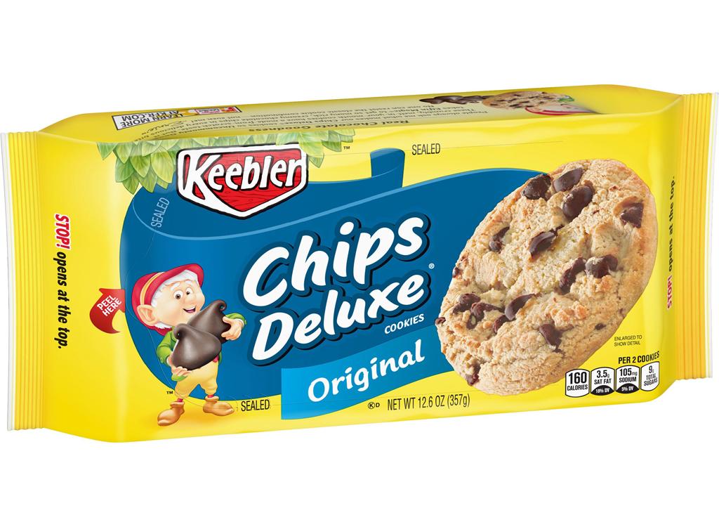 Keebler original chips deluxe cookies