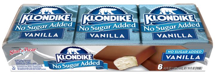 Klondike no sugar vanilla