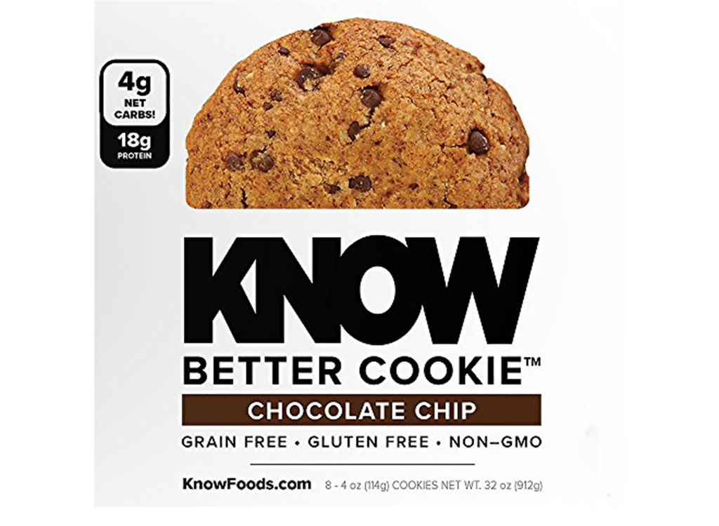 KNOW better chocolate chip cookie