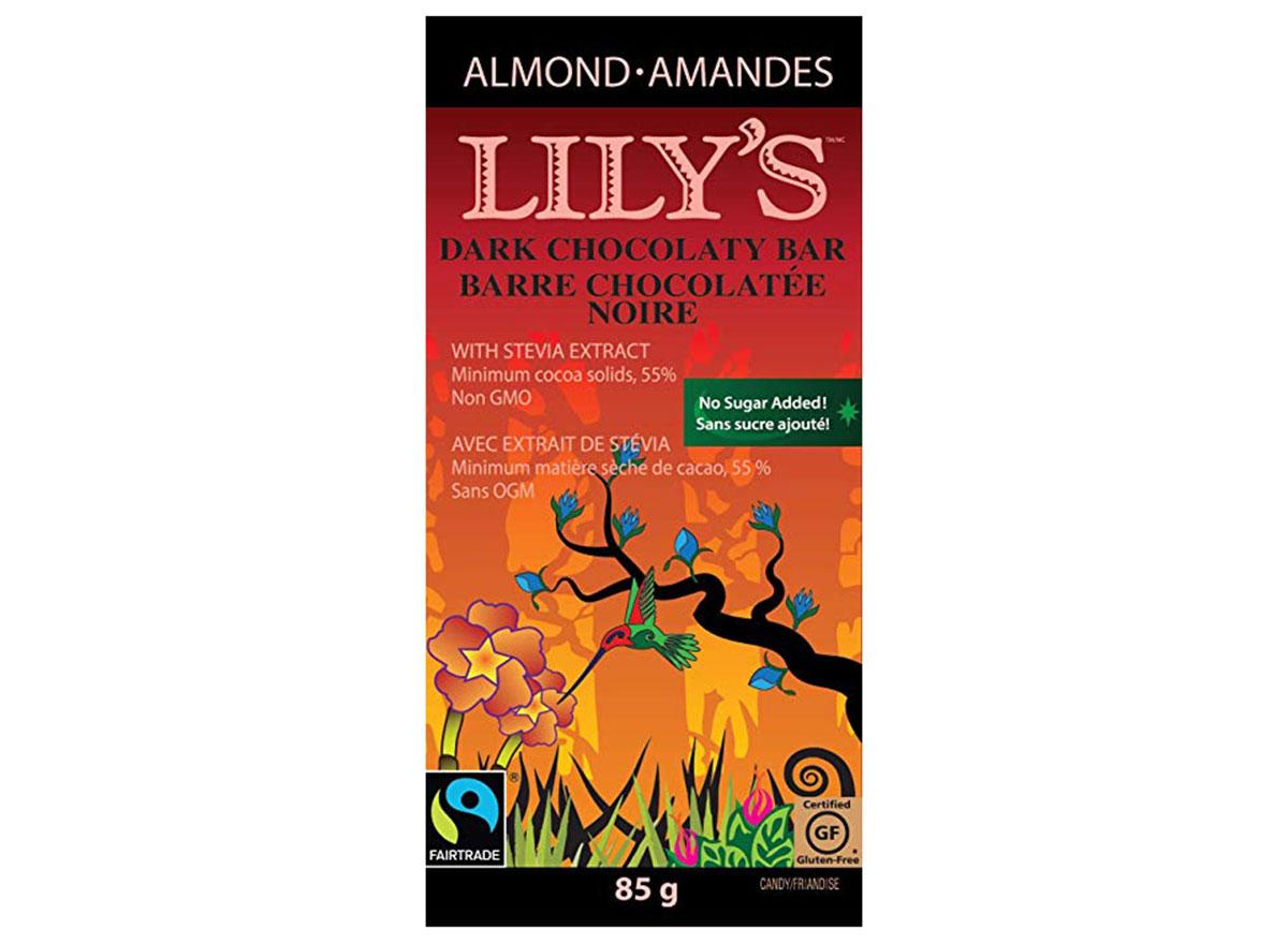 lilly's dark chocolate