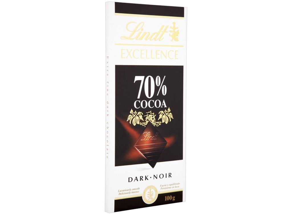 Lindt 70% dark cocoa