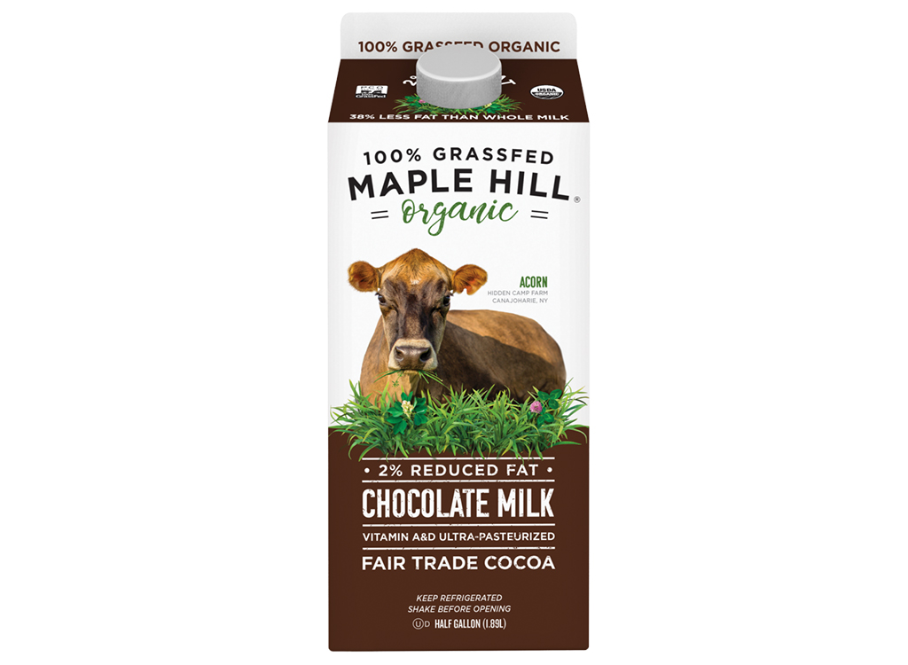 Maple hill chocolate milk