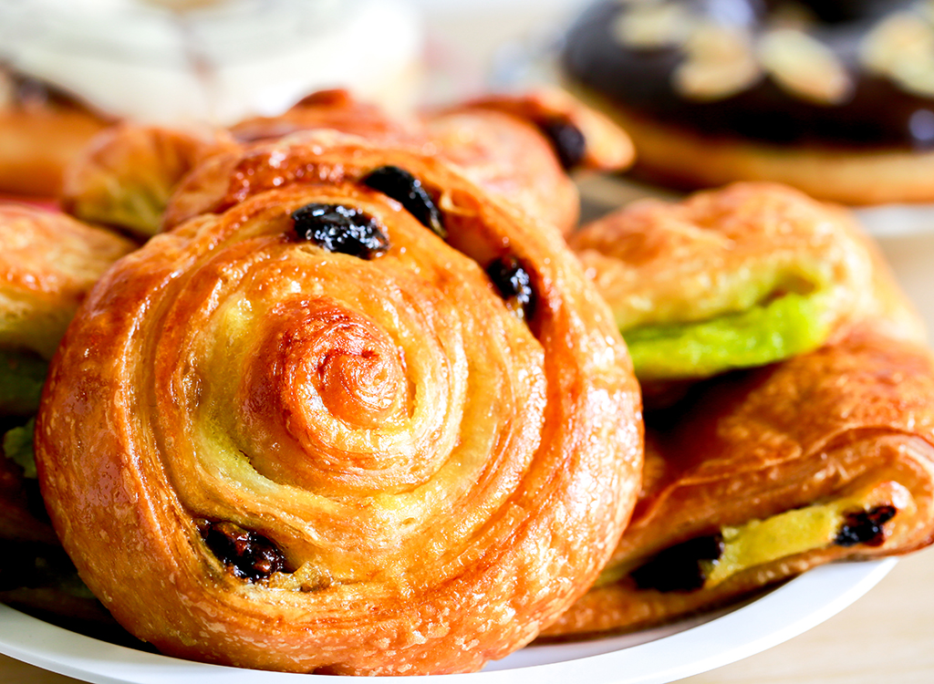 plate of pastries