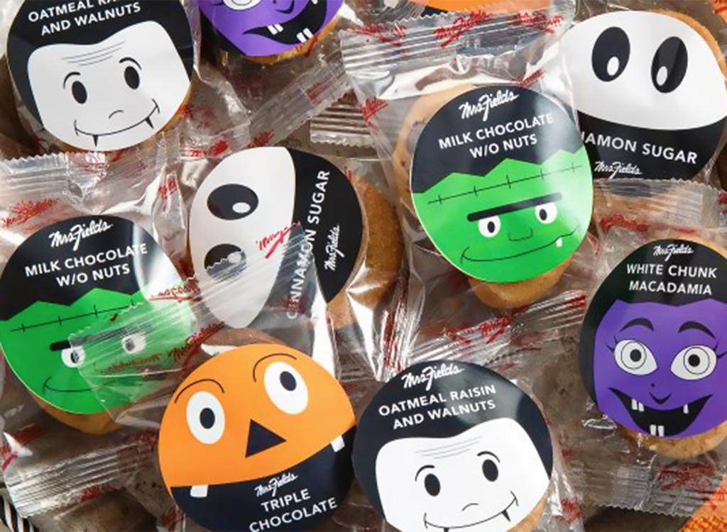 Mrs. fields halloween cookies