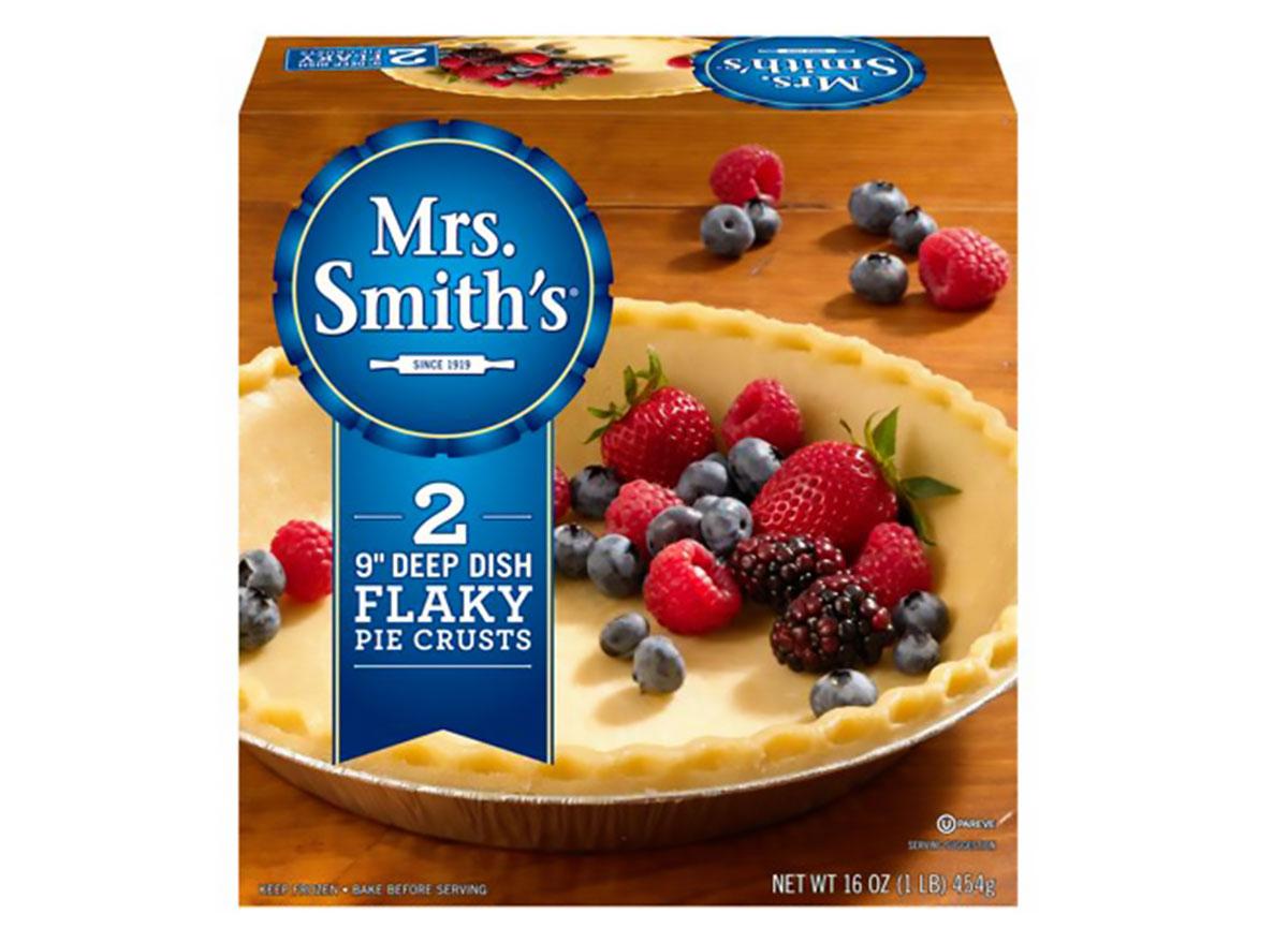 mrs smiths nine inch deep dish flaky pie crusts