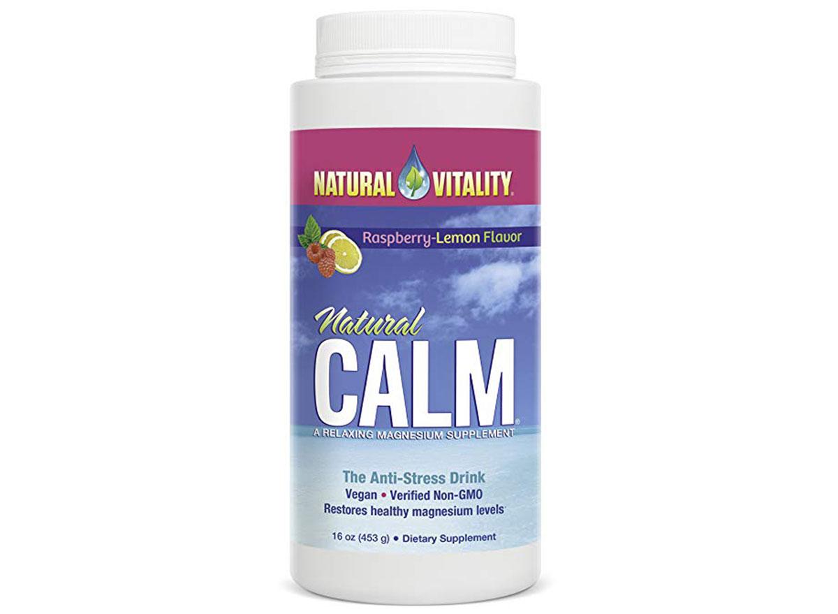 natural calm by natural vitality magnesium citrate powder