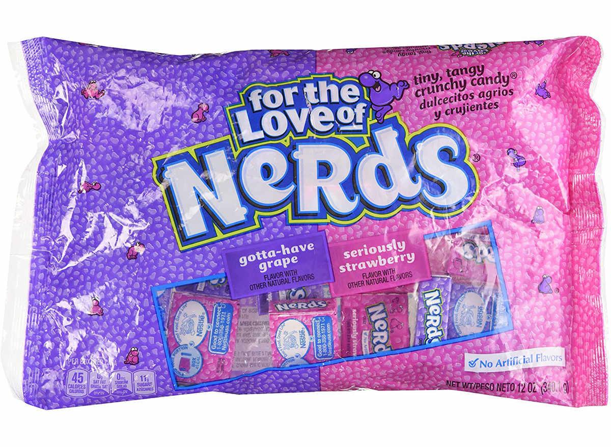 Nerds fun size candy
