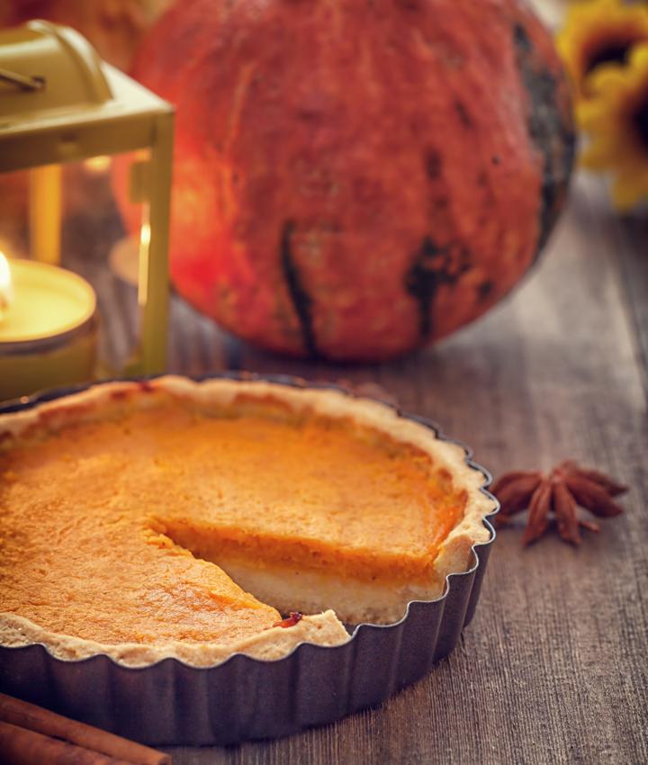 No bake pumpkin pie