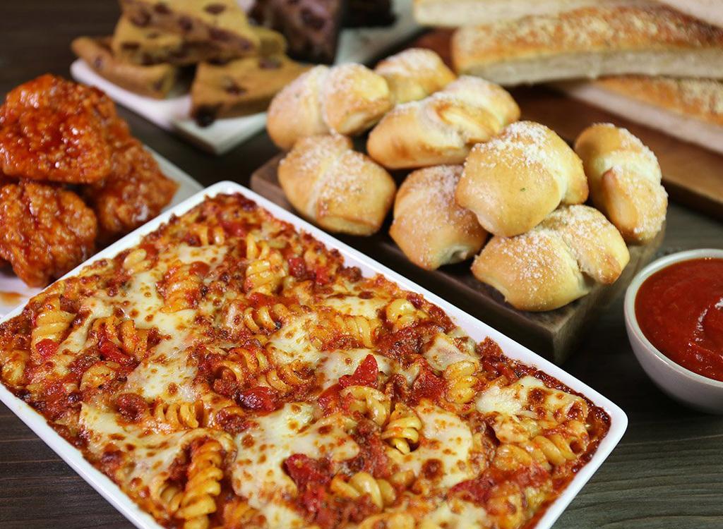 pizza hut pasta meat sauce