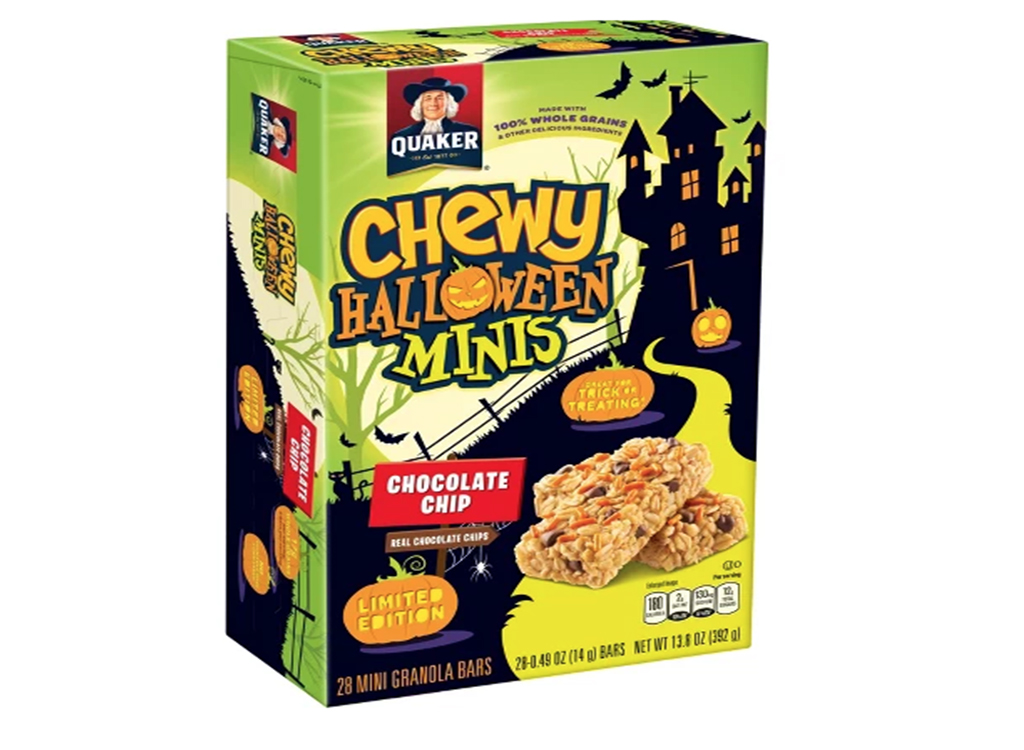 Quaker chewy halloween minis