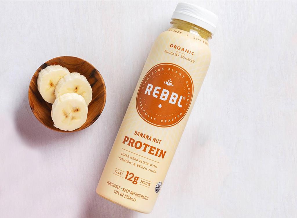 Rebbl banana nut protein shake