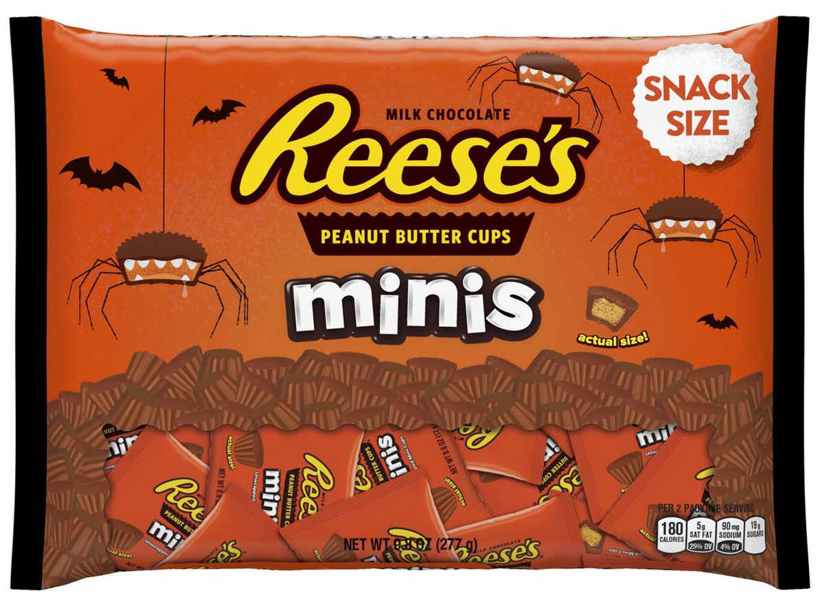 Reeses minis snack size candy