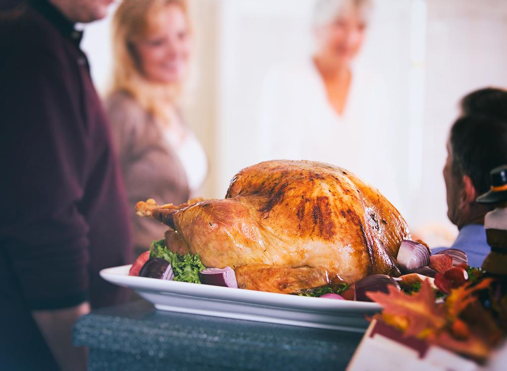 Turkey resting