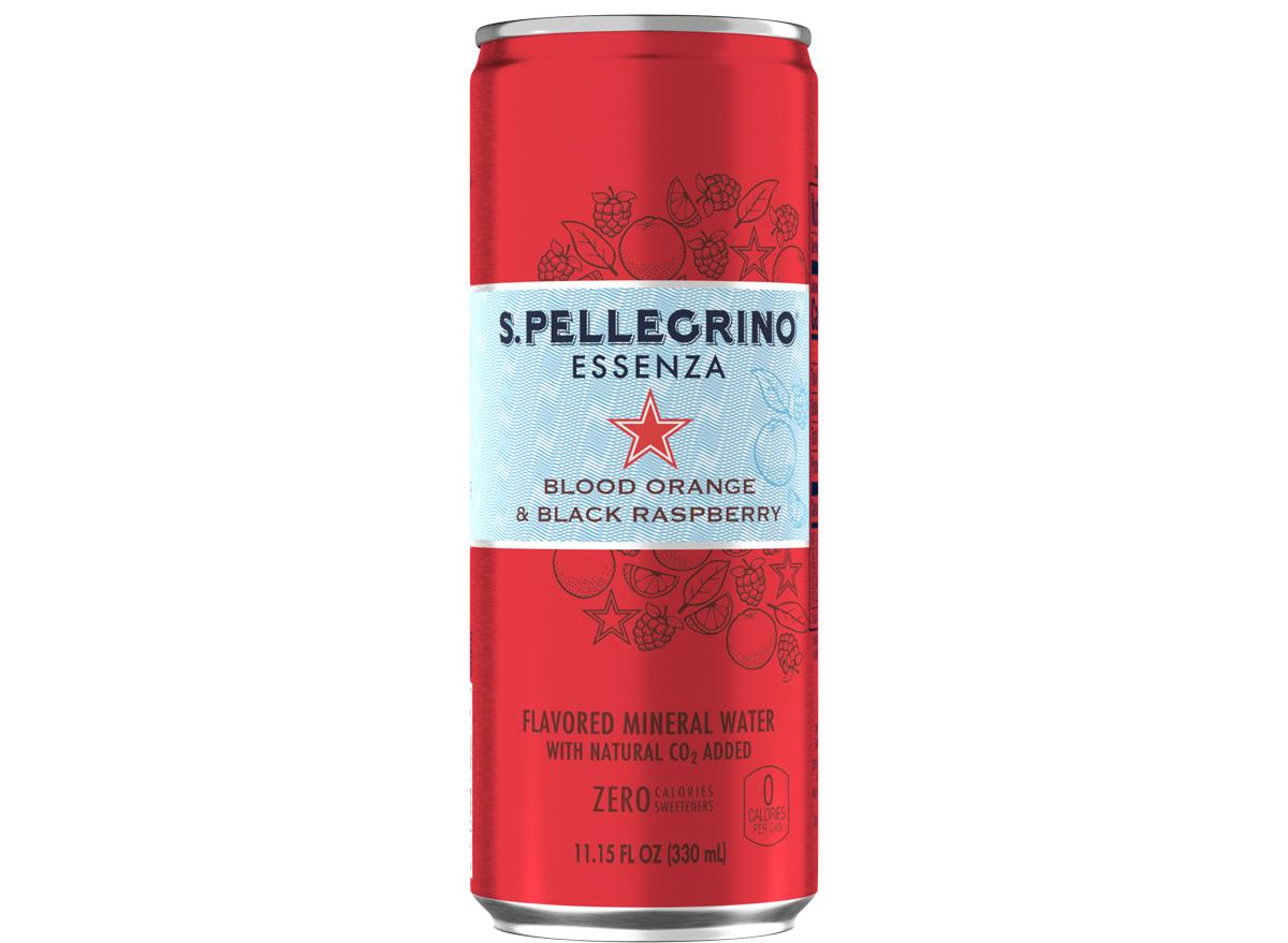 san pellegrino essenza blood orange black raspberry sparkling mineral water