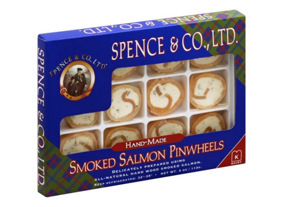spence and co. smoked salmon pinwheels