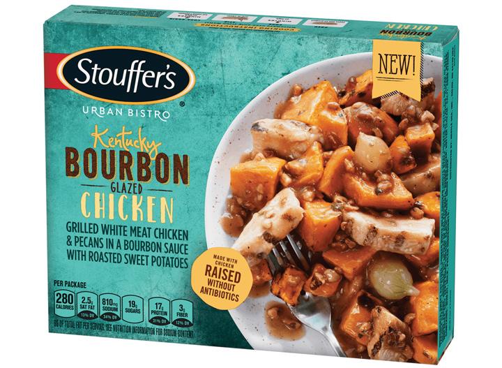 Stouffers bourbon chicken