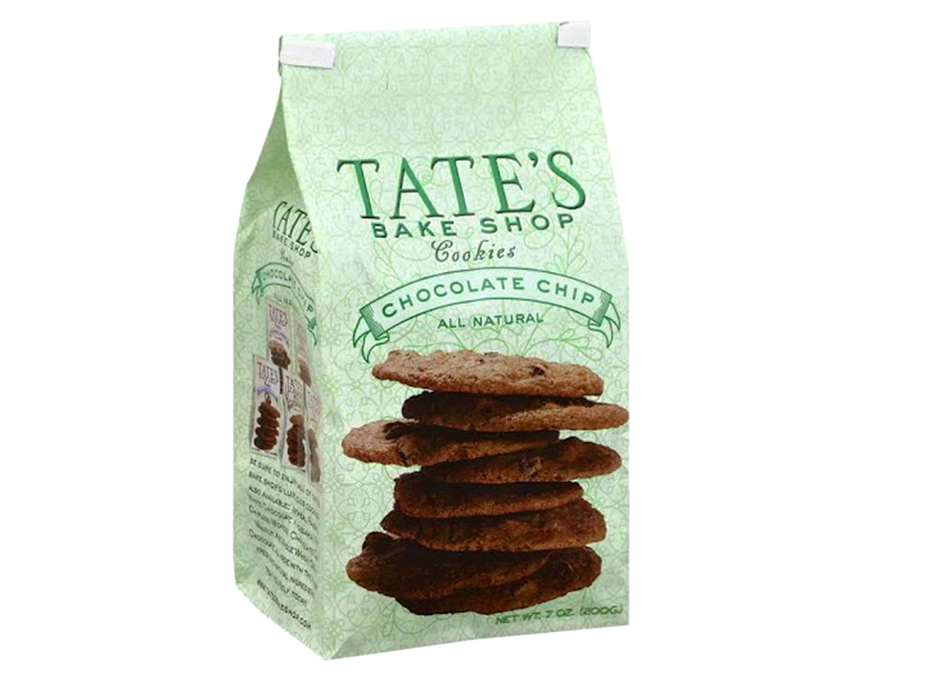 Tate's bake shop all natural chocolate chip cookies