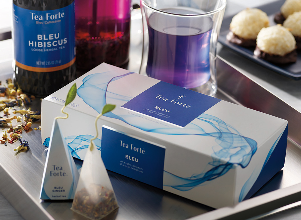 Tea forte blue