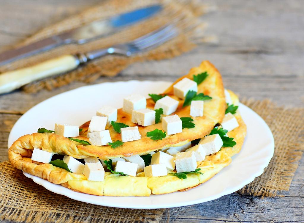 Tofu omlet