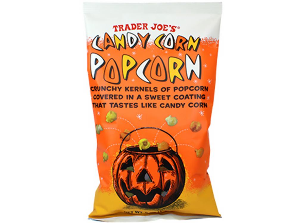 Trader joes candy corn popcorn