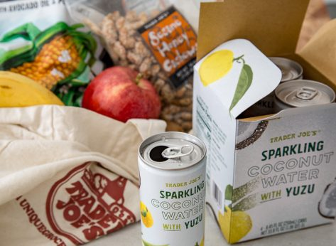 Trader joes sparkling coconut water
