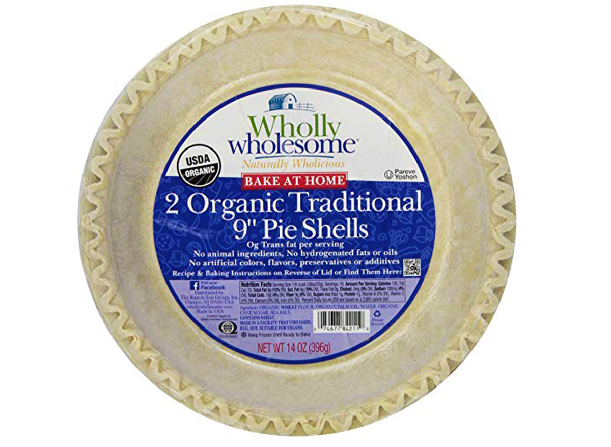 wholly wholesome organic pie shells