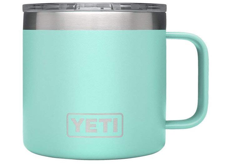 Yeti seafoam travel mug