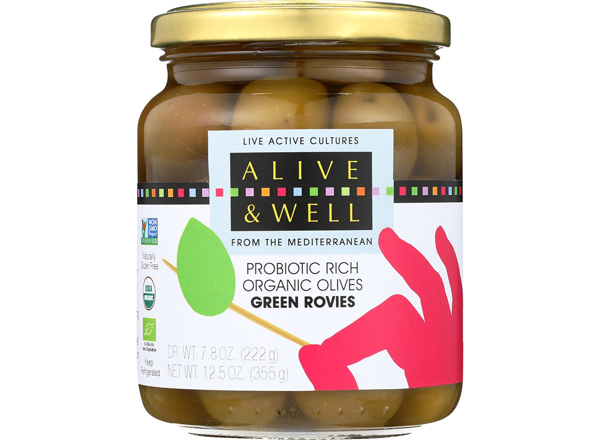 Alive and well green olives green rovies