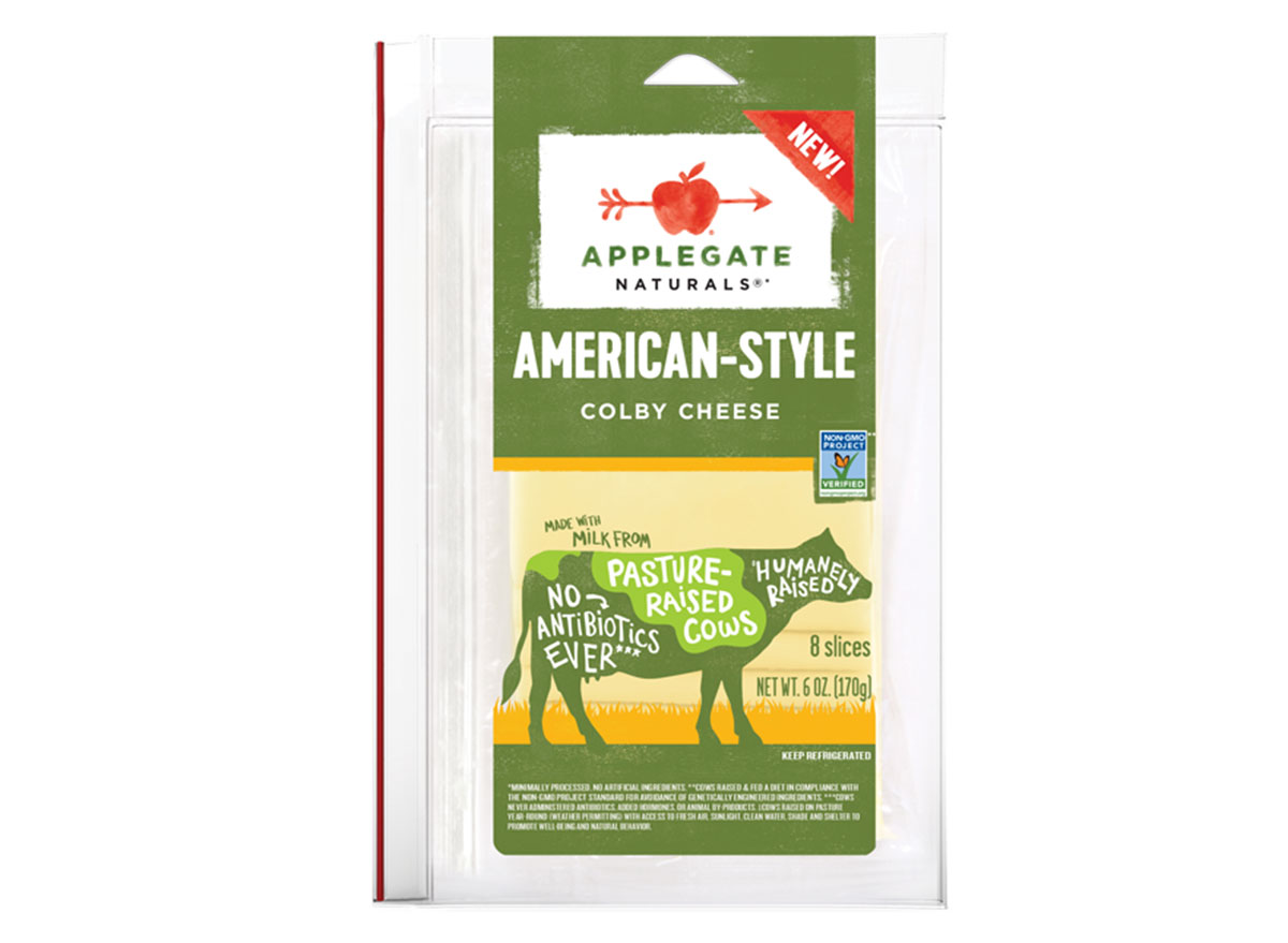 Applegate american style colby cheese