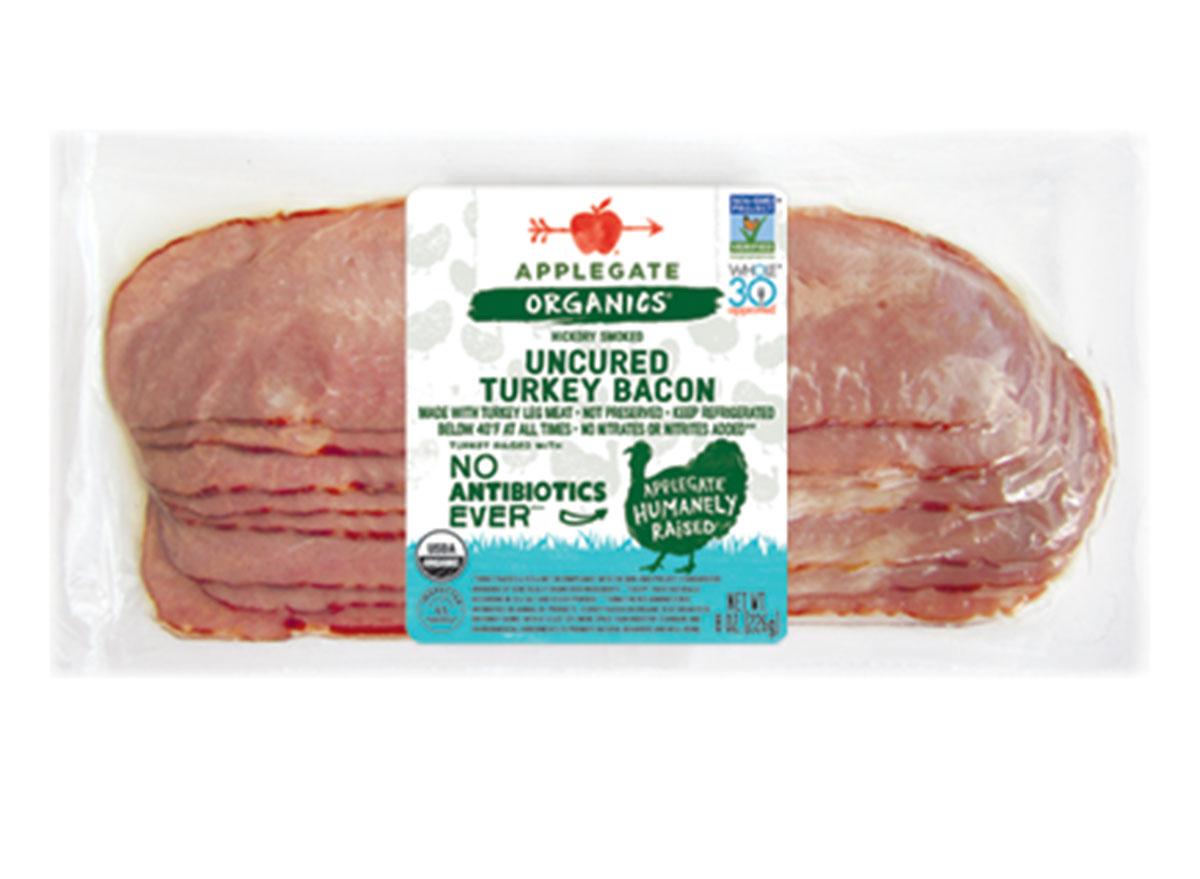 Applegate uncured turkey bacon