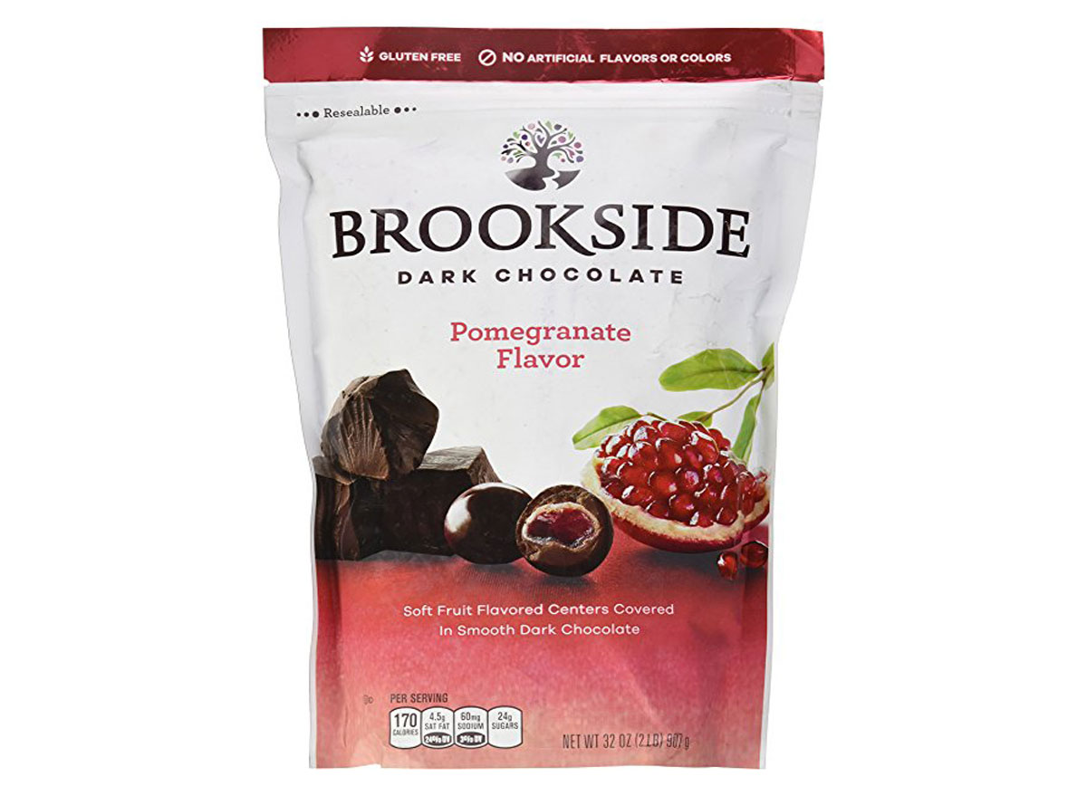 Brookside dark chocolate crunchy cluster bag