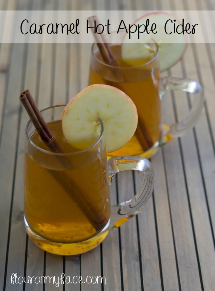 Caramel hot apple cider