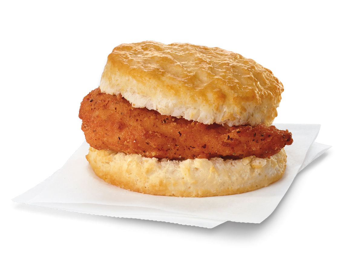 Chick-fil-A's Spicy Chicken Biscuit