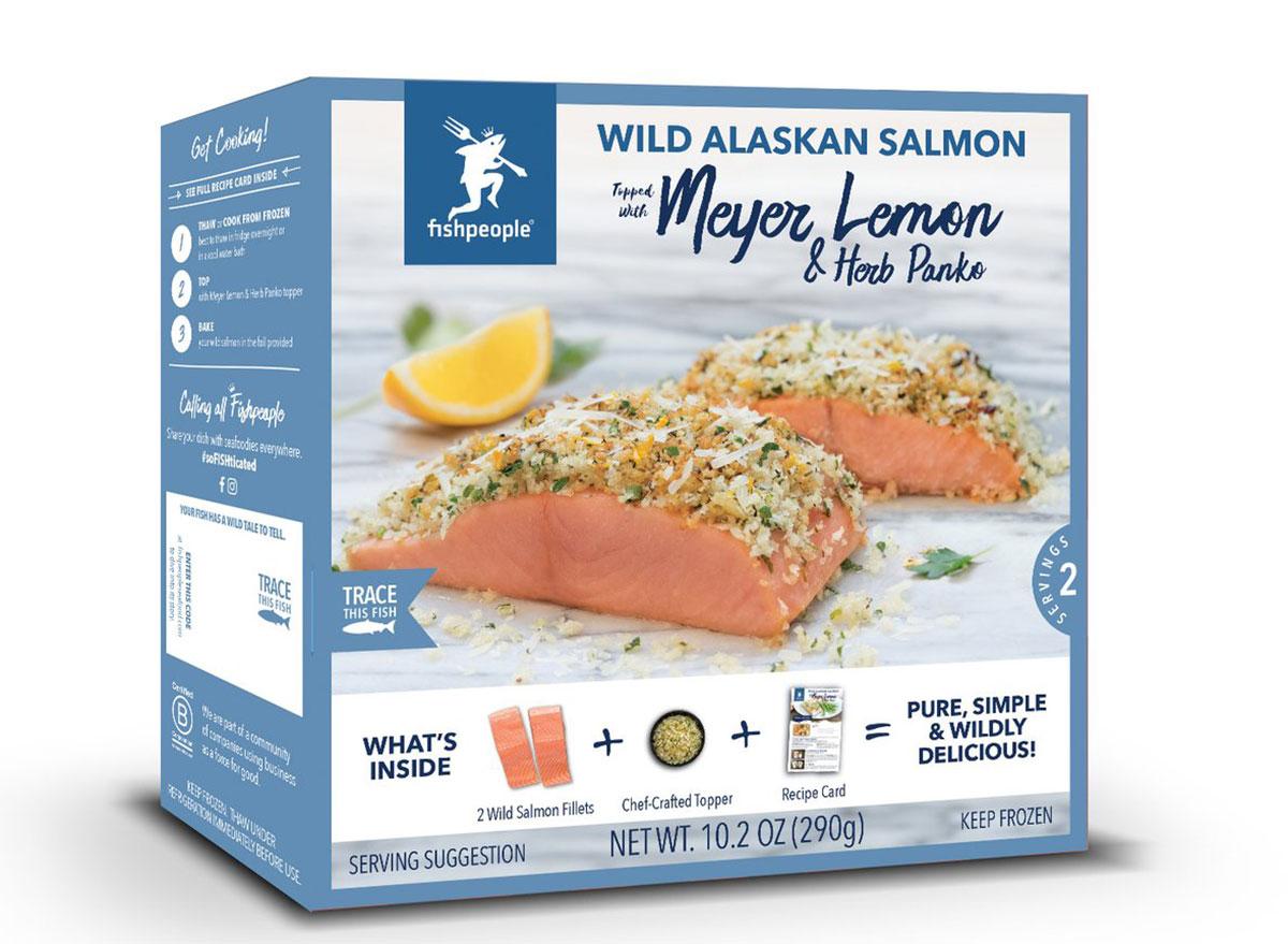 Fishpeople meyer lemon and herb panko wild alaskan salmon