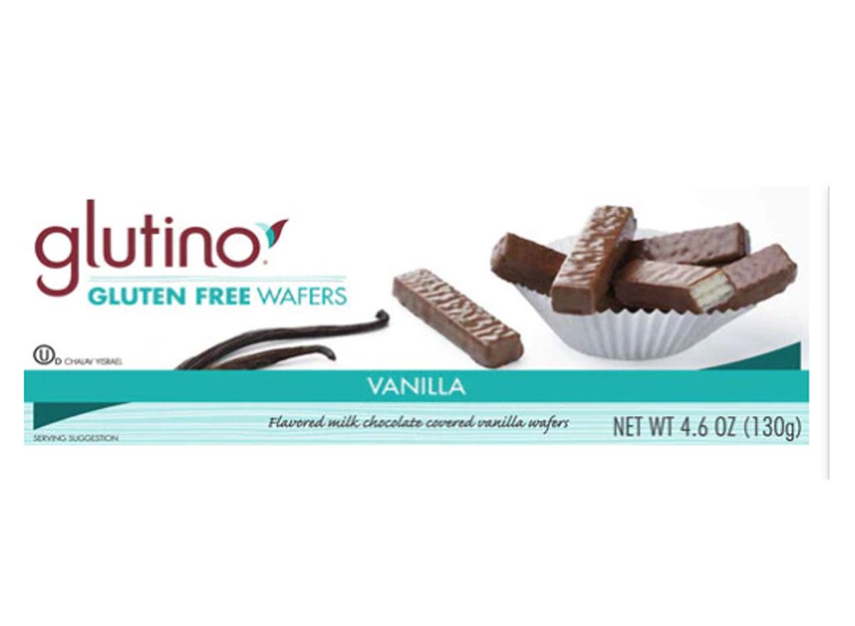 Glutino gluten-free chocolate covered wafers