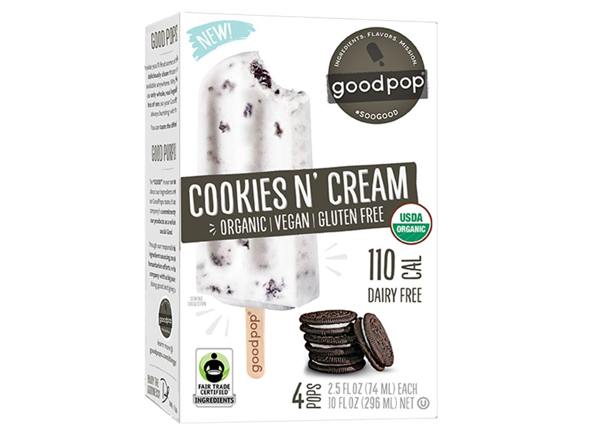 Good pop cookies n' cream