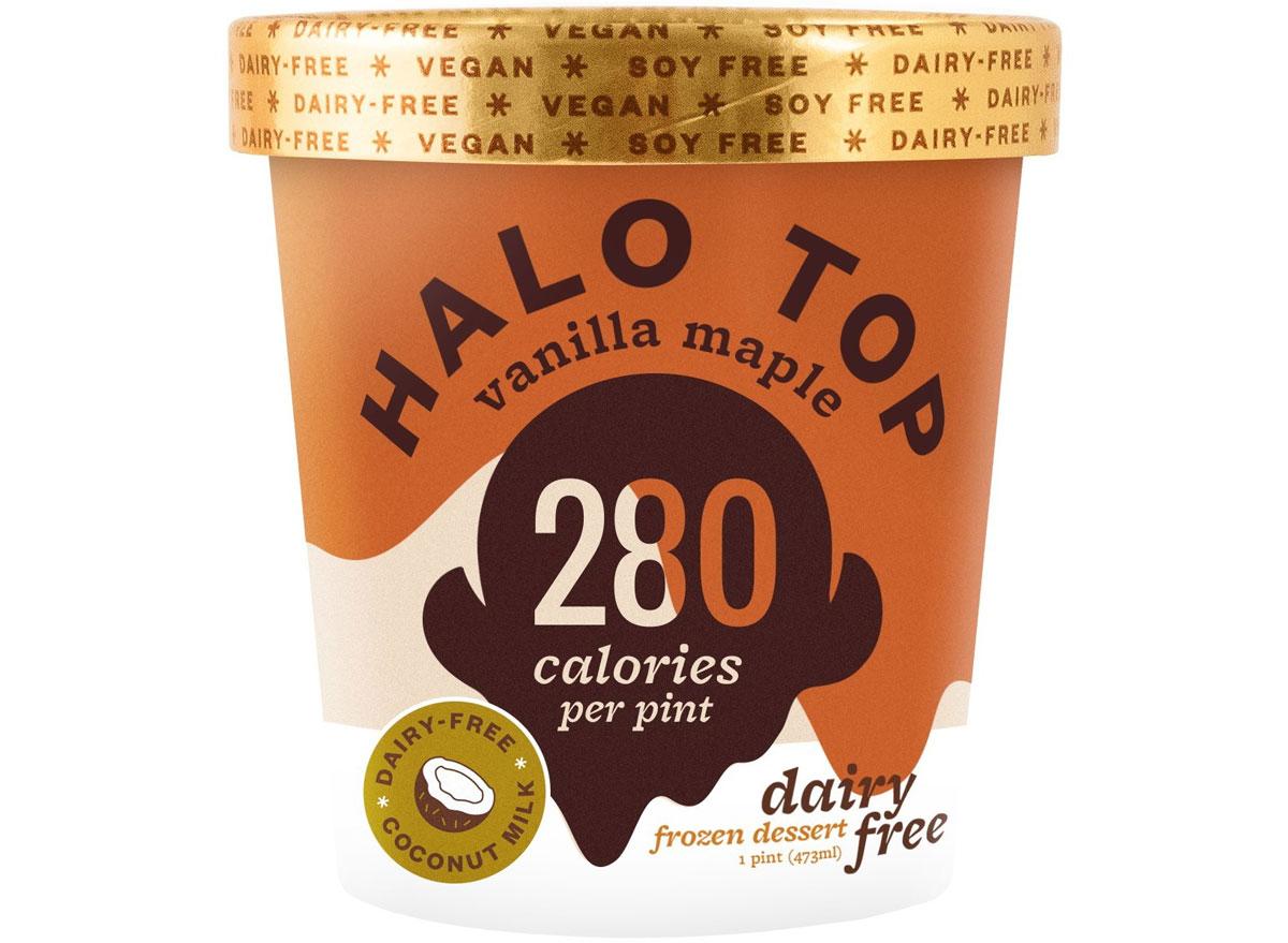 Halo top vanilla maple dairy free
