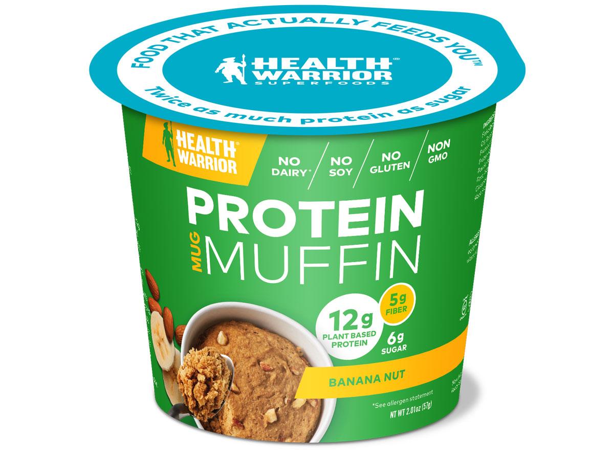 Health warrior protein muffin banana nut