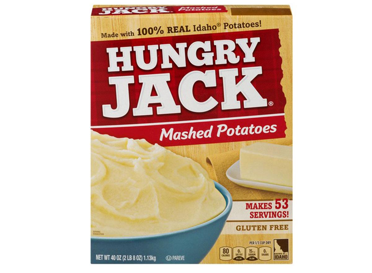 hungry jack mashed potatoes