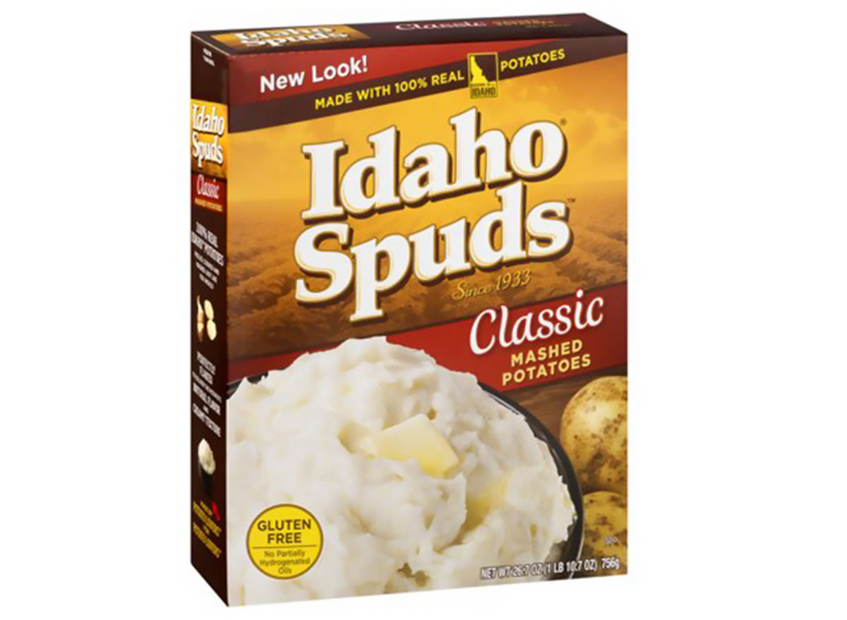 idaho spuds classic mashed potatoes