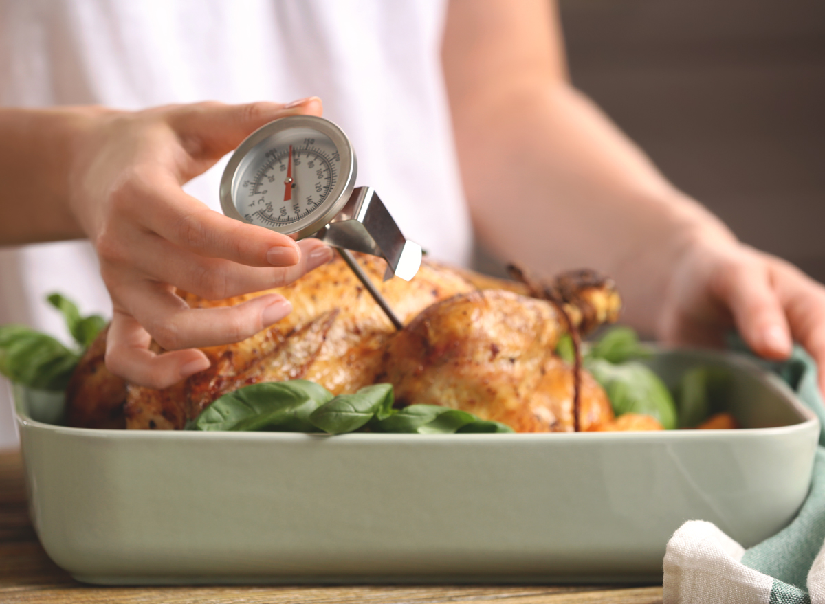 Meat thermometer turkey