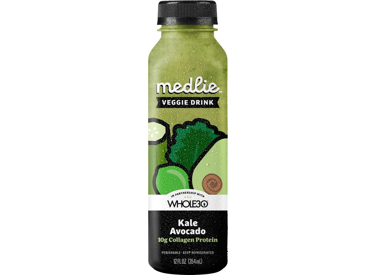 Medlie veggie drink kale avocado collagen