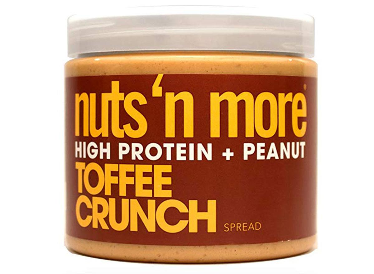 Nuts 'n more toffee crunch