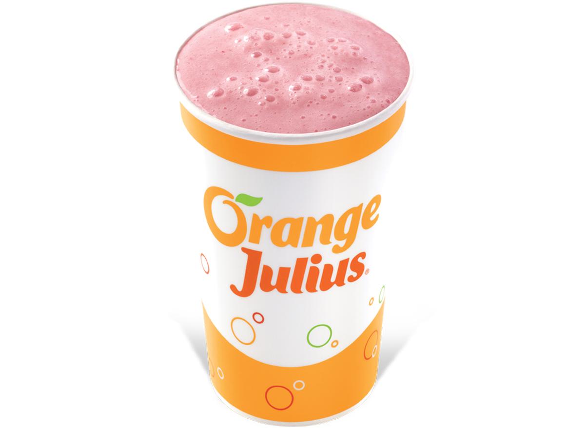 Orange julius strawberry banana