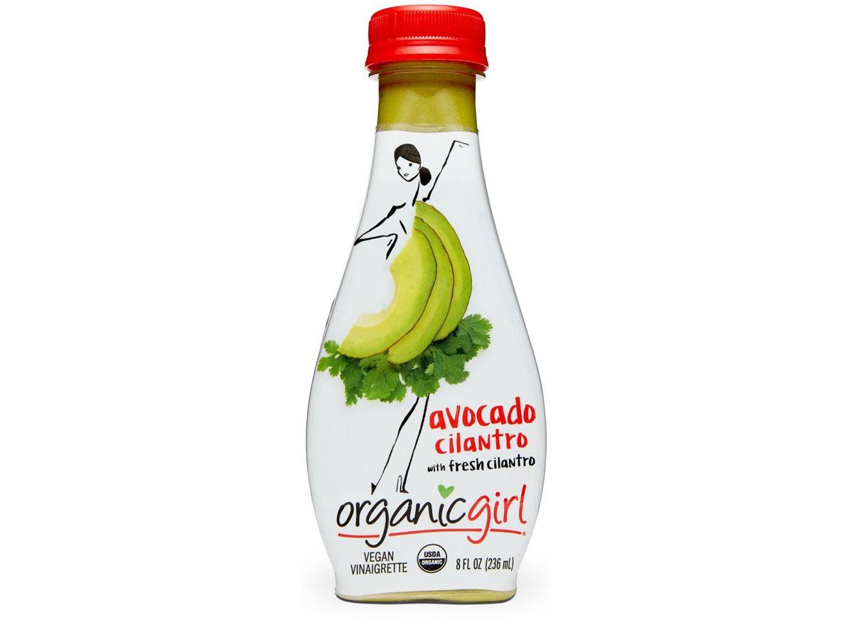 Organic girl avocado cilantro