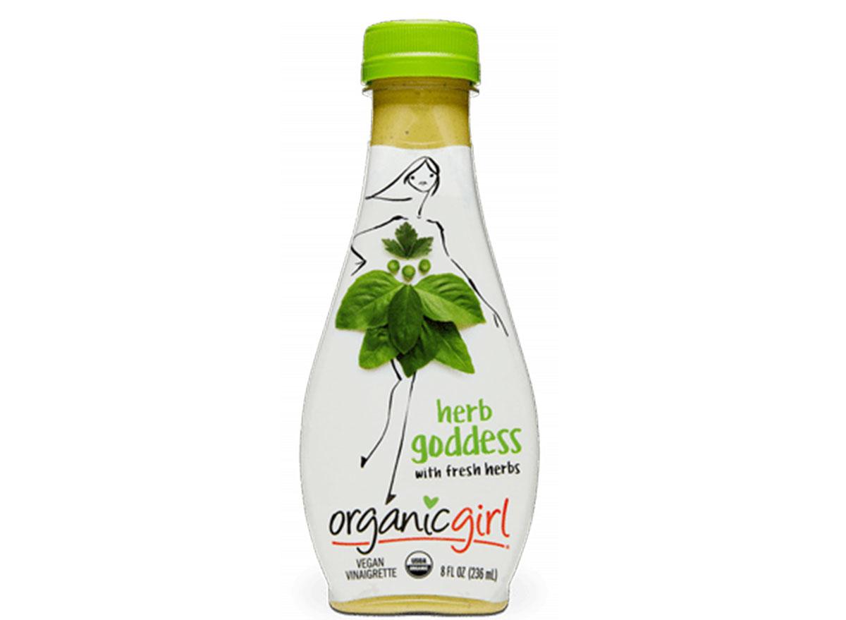Organic girl herb goddess vinaigrette
